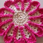 Chrysanthemum Dishcloth or Hotpad -..