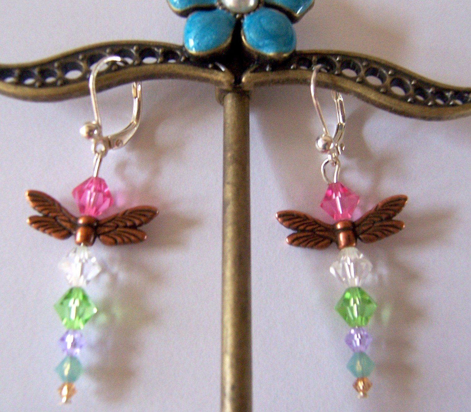 Sale 4 Dollars Off Dragonfly Swarovski Crystal